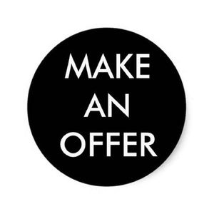 GREAT DEALS ARE JUST AN OFFER AWAY! MAKE ONE:)